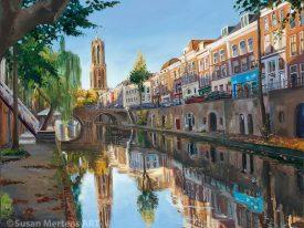 Oudegracht Domtoren Utrecht
