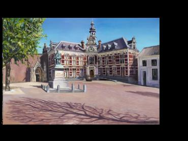 Schilderij Academiegebouw