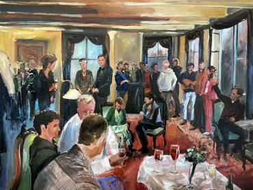 Live Paint Verjaardag Friesland