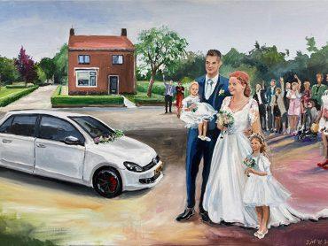 Live Paint bruiloft Achterberg