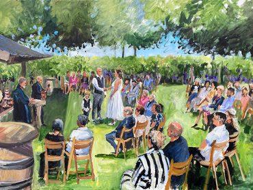 Live Paint bruiloft Gendringen
