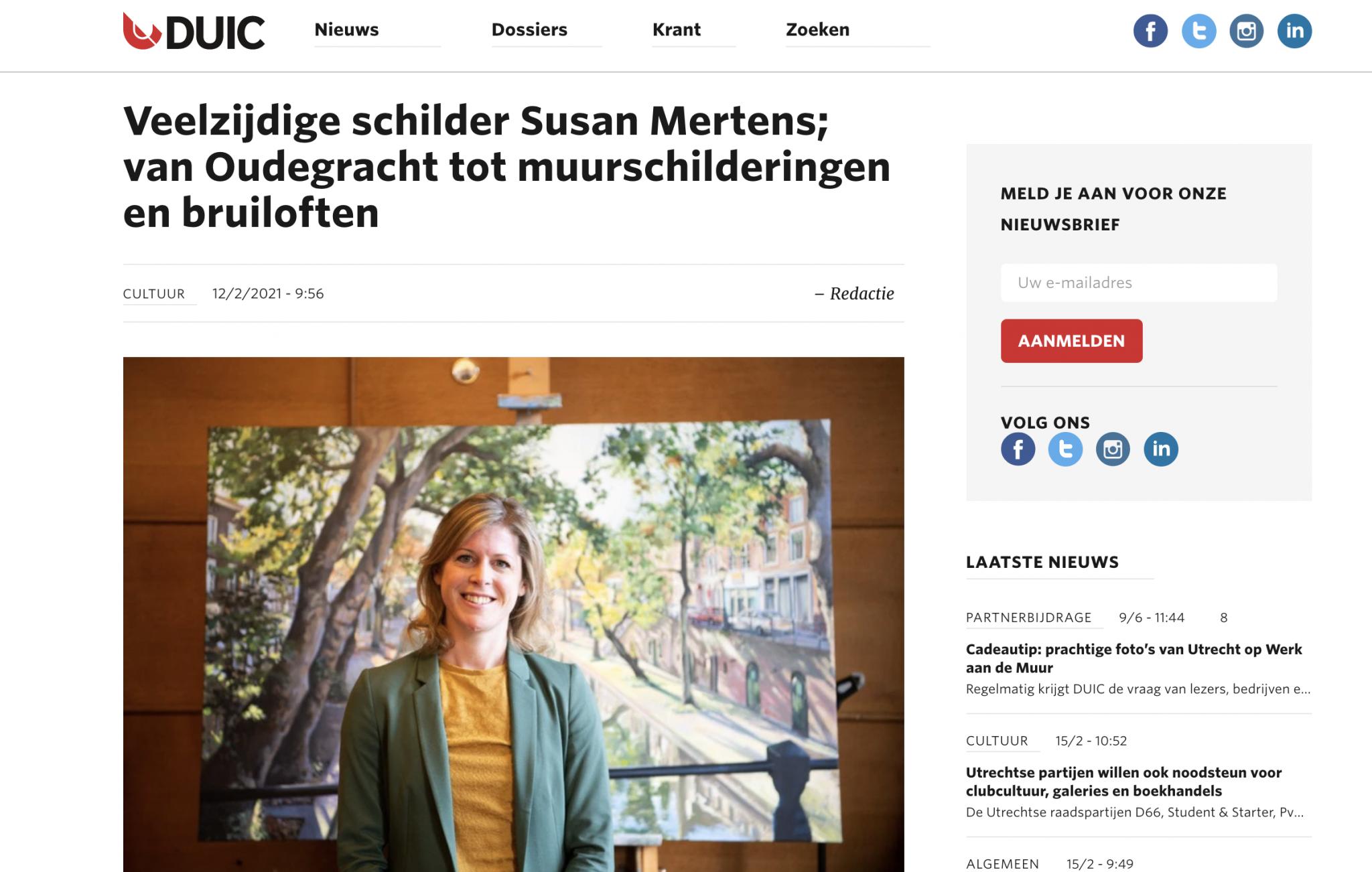 Duic Utrecht interview Susan Mertens
