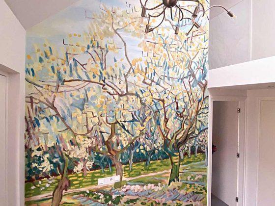 Van Gogh Muurschildering